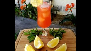 How To Make Homemade Strawberry Lemonade Recipe