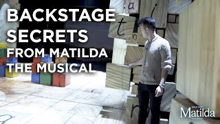 Backstage Secrets #5 | The Wobble Tile | Matilda The Musical
