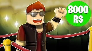 🔥 WE BECOME MEGA CELEBRITIES FOR 8000R $ | Roblox