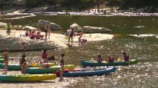 Ardèche - Sorties des gorges de l'Ardèche