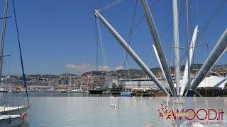 Posa in opera plusDECK all'Acquario di Genova