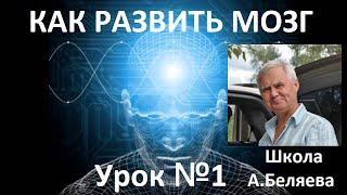 Как развить Мозг? Управление Мозгом.Урок 1 ТОЧКА. Автор Алексей Беляев