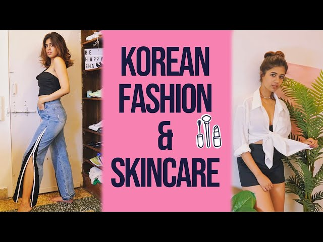 HUGE HAUL from KOREA! very cute clothes and skincare!  Sejal Kumar