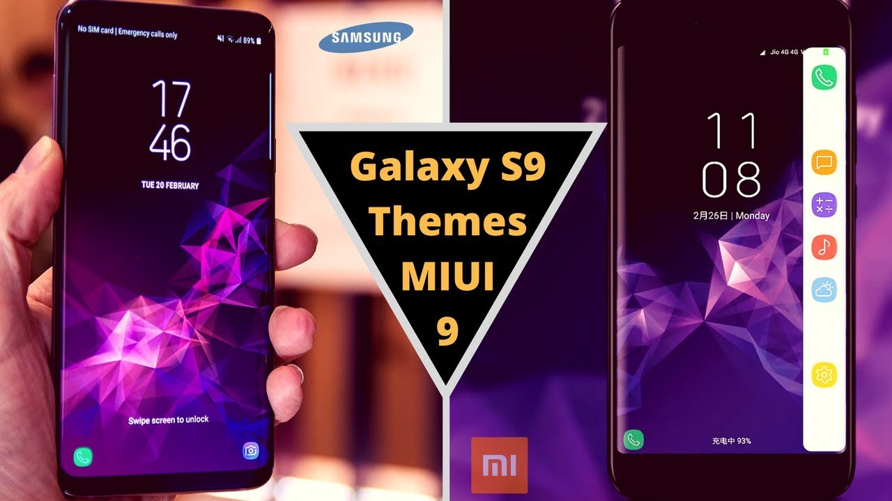 samsung galaxy s9 themes
