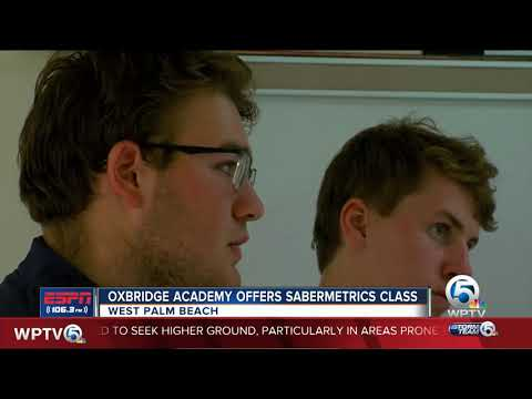 Oxbridge Academy offers sabermetrics class to students