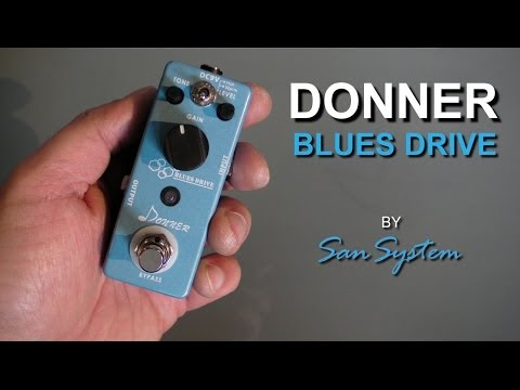 DONNER - Blues Drive ( Overdrive )
