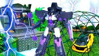 Игры с Трансформерами - Оптимус и Бамблби на базе Десептиконов!
