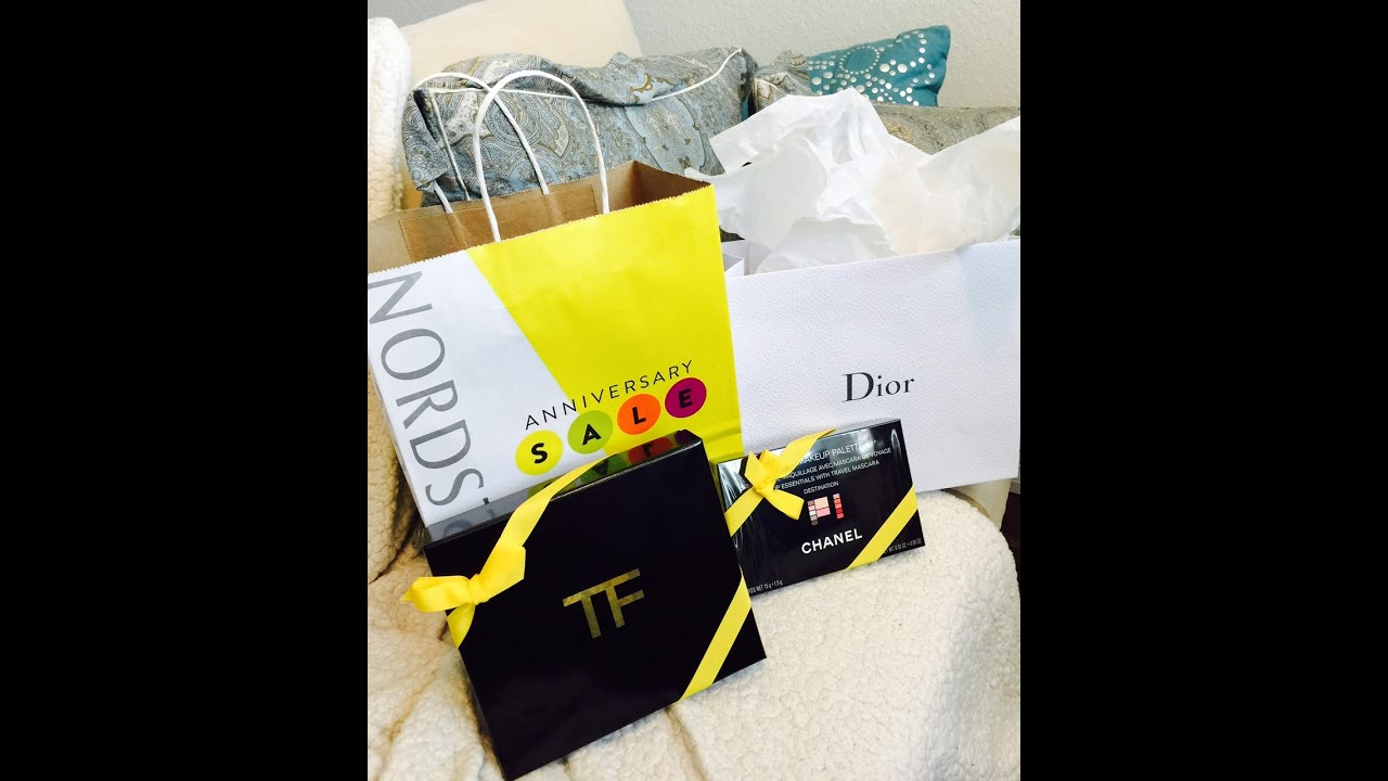 021be83c7000 Nordstrom Anniversary Sale 2015   Dior Chanel Tom Ford - YouTube