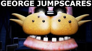 JOLLY 3: Chapter 2 - George Animatronic Jumpscares & Voices (FNAF Horror Game 2018)