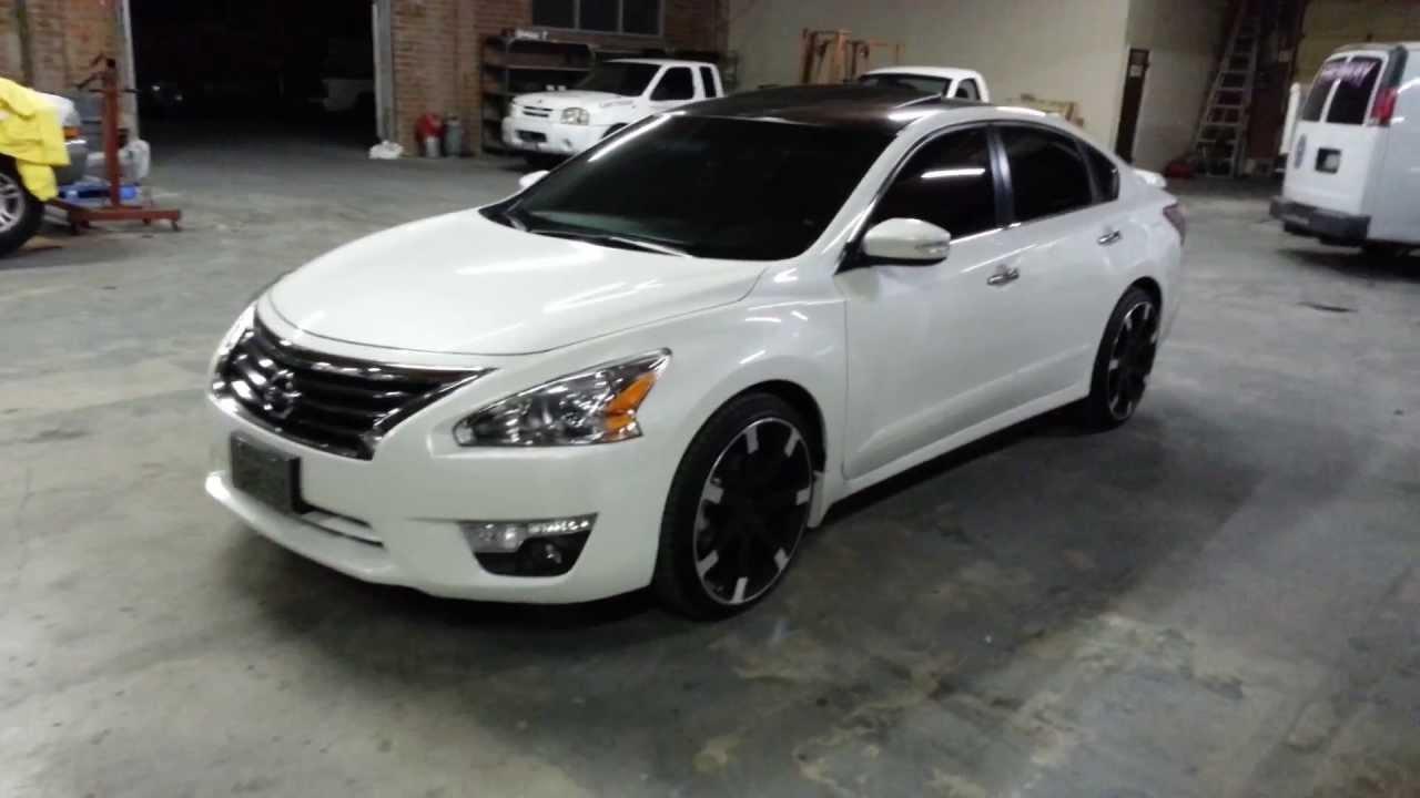 2013 Nissan Altima Custom 20 Rims
