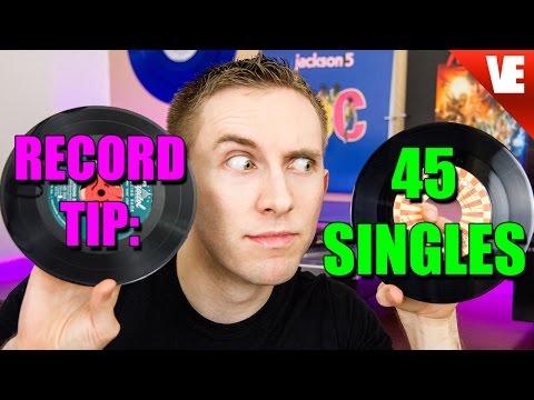 RECORD TIP: 45 SINGLES STORAGE