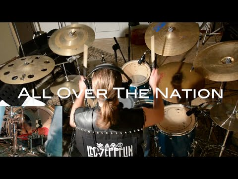 All Over The Nation - HELLOWEEN - Andrea Gianangeli - Drum Cover  HD