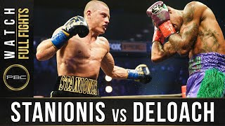 Stanionis vs DeLoach FULL FIGHT: November 4, 2020 - PBC on FS1