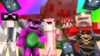 Minecraft Mini-Game : DO NOT LAUGH! (MESSED UP MARIO, AND FIRST HUNTING TRIP!) w/ Facecam