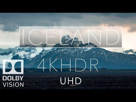 Iceland HDR 4k Dolby Vision