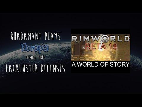 Community Challenge: Europa // Episode Three // Lackluster Defenses
