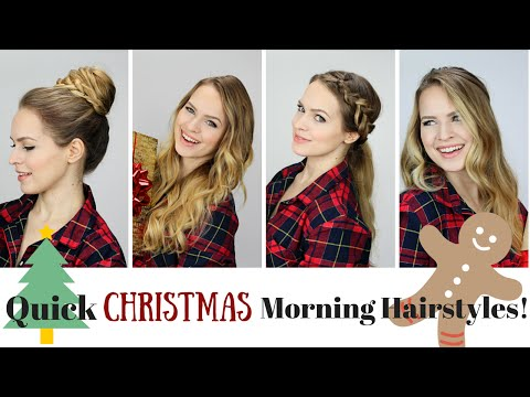 5 Quick and Easy Morning Hairstyles!