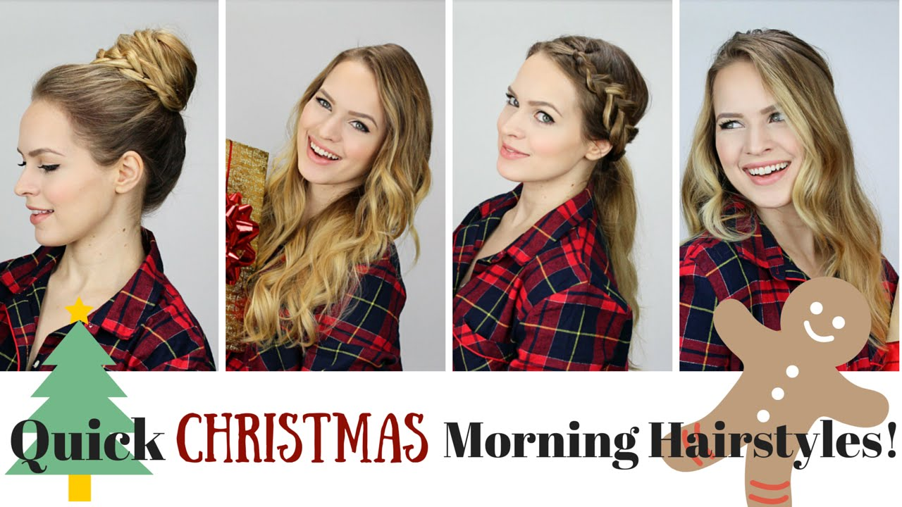5 Quick And Easy Morning Hairstyles! YouTube