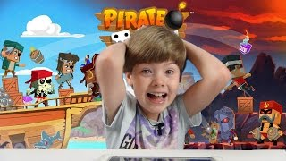 Playing Pirate Bash (iPad /iOS/Tablet Gameplay Video) (KID GAMING)