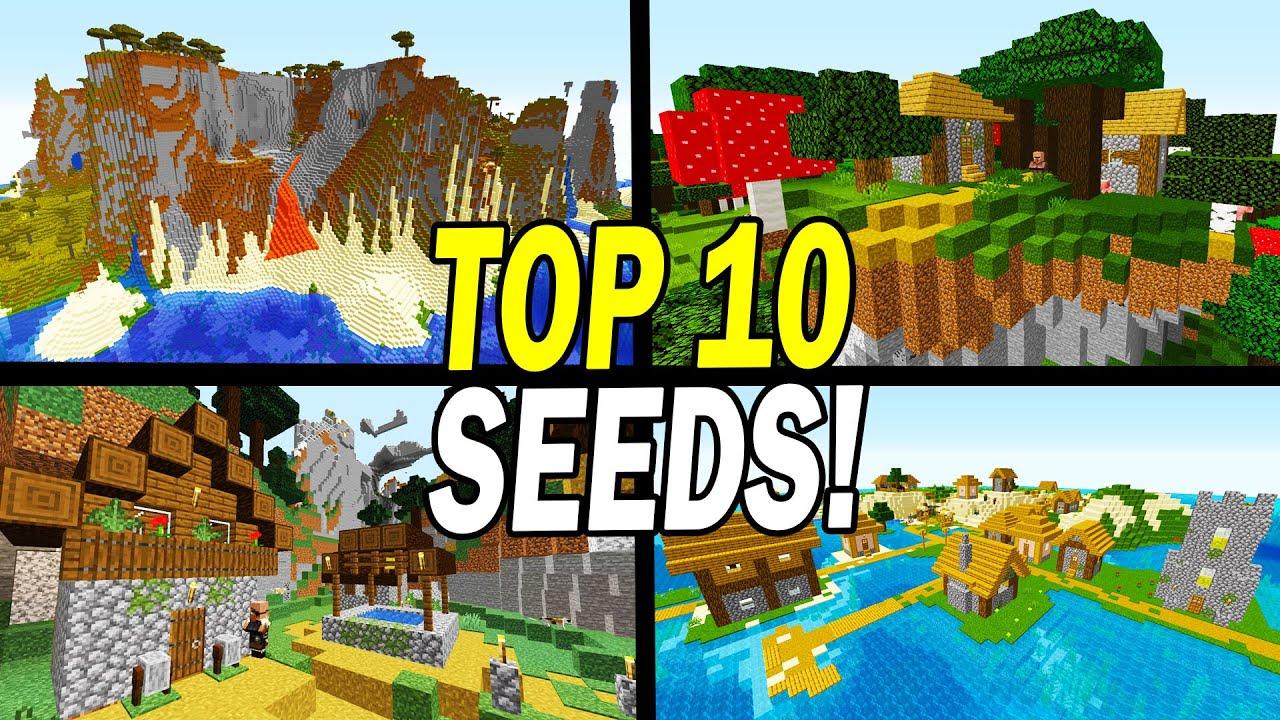 Top 9 Minecraft 9.96.9 BEST Seeds (PC JAVA Edition)