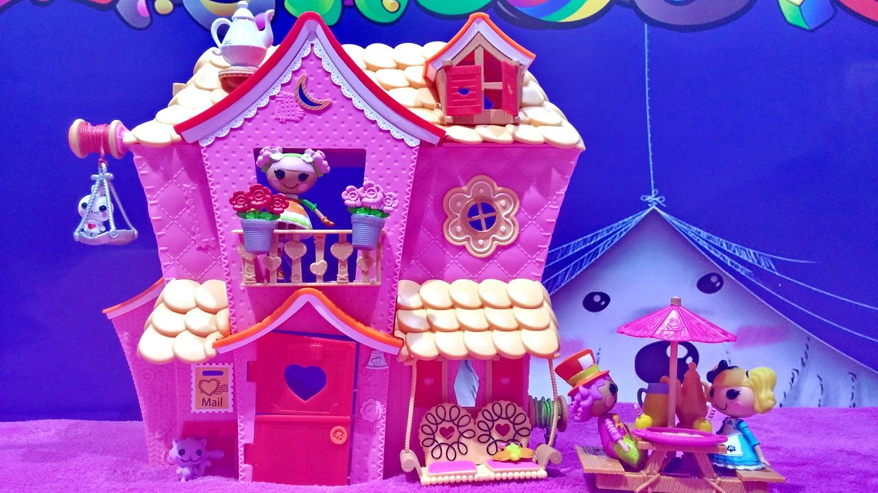 Attractive Mini Lalaloopsy Sew Sweet House Playhouse With Mini Lalaloopsy Dolls And  Exclusive Character
