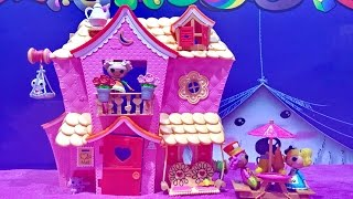 Mini Lalaloopsy Sew Sweet House Playhouse With Mini Lalaloopsy Dolls And Exclusive Character