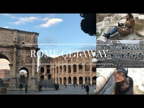 ROME GETAWAY || First vlog || Rutha