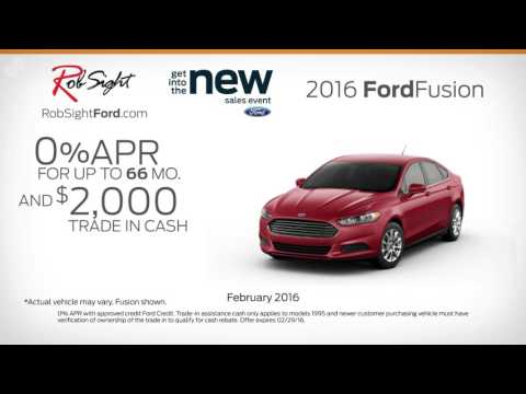 Rob Sight Ford February Offers SPS