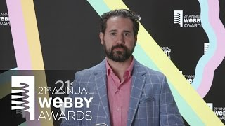 We the Internet TV's 5-Word Speech at the 21st Annual Webby Awards
