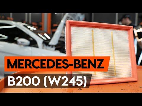 Как заменить воздушный фильтр двигателя на MERCEDES-BENZ B200 (W245) [ВИДЕОУРОК AUTODOC]
