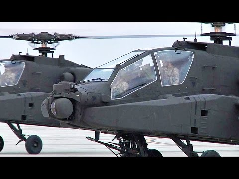 AH-64D Apache Attack Helicopter - Up Close/Interior View