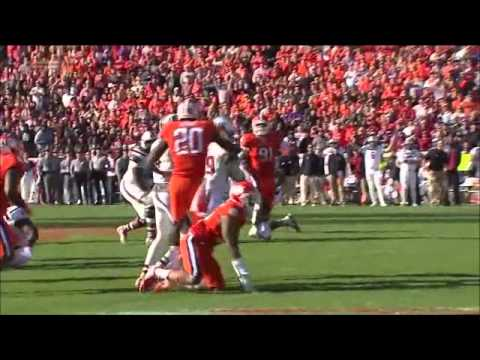 Garry Peters  Clemson Football  CB  2014 South Carolina Game