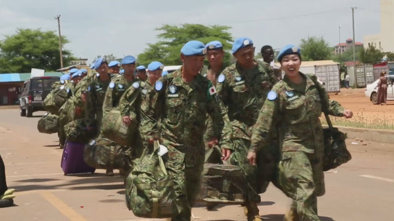 自衛隊 南 スーダン