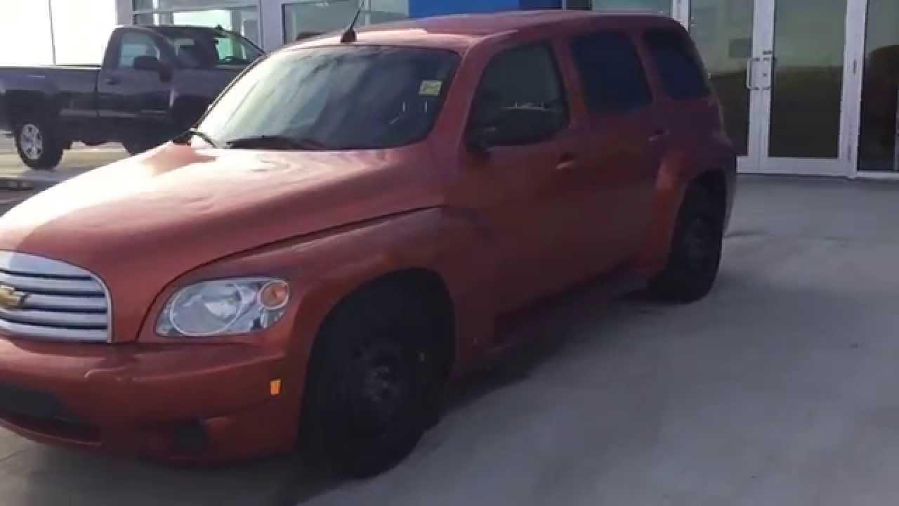 Orange 2008 Chevrolet Hhr Ls Utility At Scougall Motors For 6 900