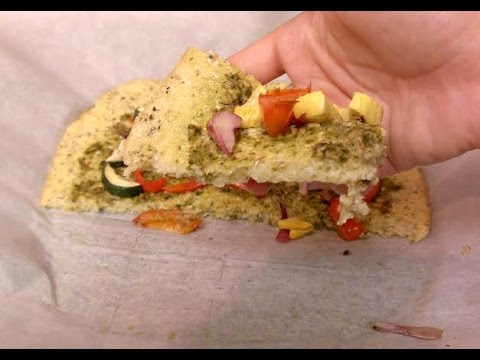 Cheese Free Cauliflower Pizza Crust Recipe