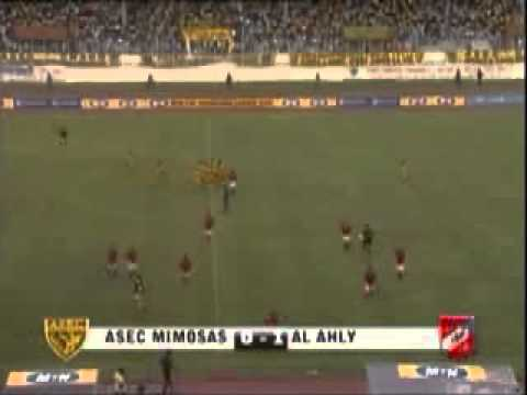 ASEC VS AL AHLY 2008