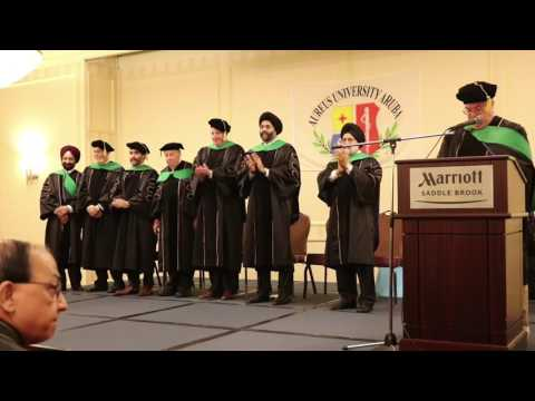 Aureus University Graduation 2017