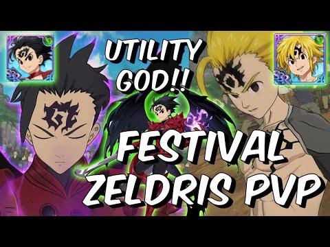 Festival Zeldris Is GOD TIER Support for Assault Meliodas in PVP!! – Seven Deadly Sins: Grand Cross