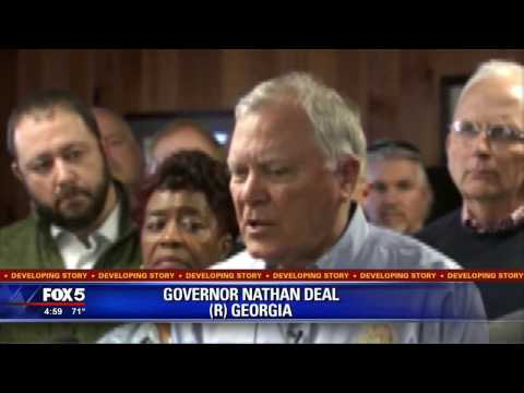 Governor tours south Georgia damage