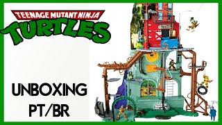 Caixa de Pandora #185 - Especial 2 - Esgoto das Tartarugas Ninja - Playmates  - PT/BR