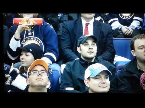 Stunned video of the night Hawks vs Blues
