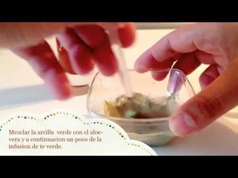 Como preparar la arcilla verde para mascarilla