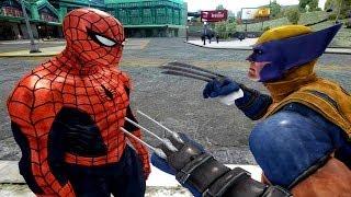 Spiderman VS Wolverine - EPIC spider-man