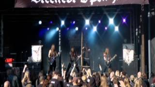 Sacrilegious Impalement - Wolves of the Black Moon (Steelfest 2012)