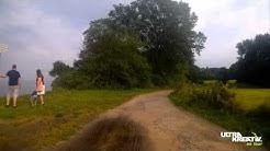 Fahrradtour mit Action Cam am Brodtener Steilufer zwischen Niendorf und Travemünde