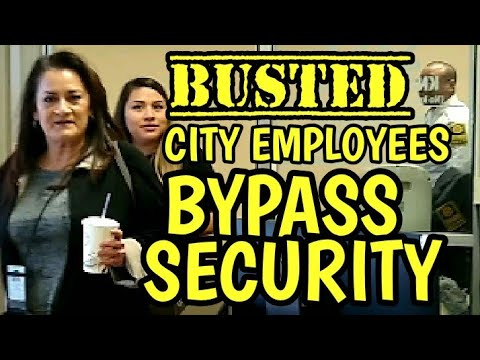 ARLINGTON, TEXAS EMPLOYEES BYPASS SECURITY WITH MAGIC BADGES