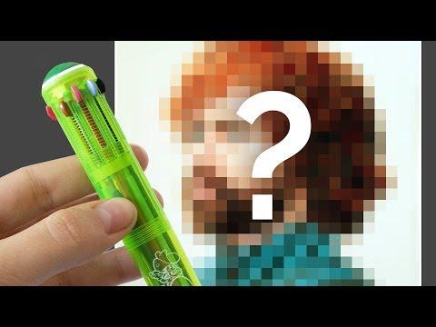 Penna 12 colori: potrò farci un Ritratto? 🐸 Fraffrog