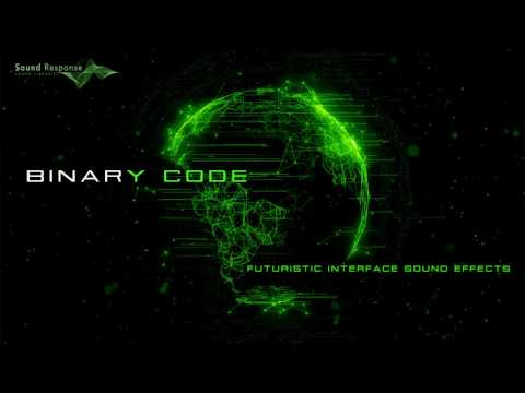 Binary Code - Interface Sound Effects | Sci-Fi Computer Beeps & Data Processing Sounds