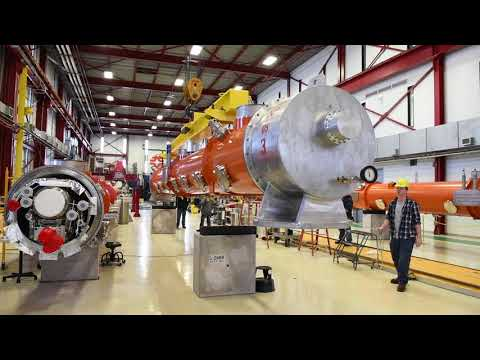 Fermilab ships first LCLS-II cryomodule to SLAC