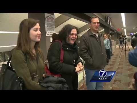 Afghan family reunites in Lincoln following president's travel ban